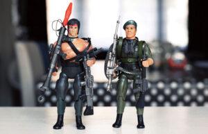 Muñecos de Rambo vintage