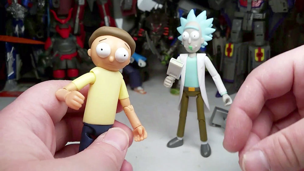 Muñecos de Rick and Morty
