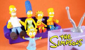 Muñecos de Los Simpsons de Mattel