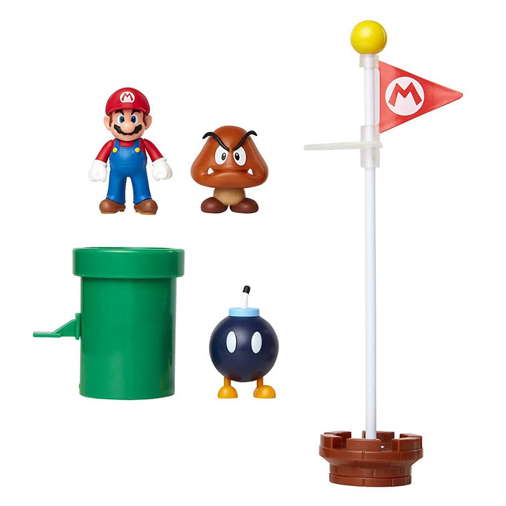 Muñecos de Super Mario Acorn Plains Jakks