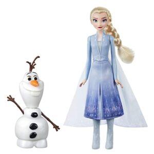 Muñecos Elsa y Olaf Frozen 2