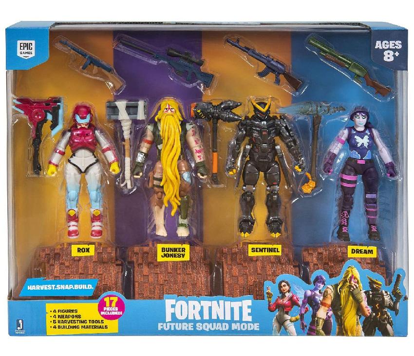"""Muñecos de Fortnite """"Future Squad Mode"""" Jazwares"""