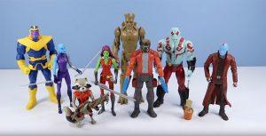 Muñecos Guardianes de la Galaxia