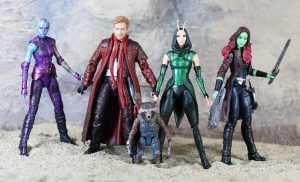 Muñecos Guardians of the Galaxy de Marvel Legends