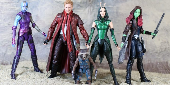 Guardians of the Galaxy de Marvel Legends