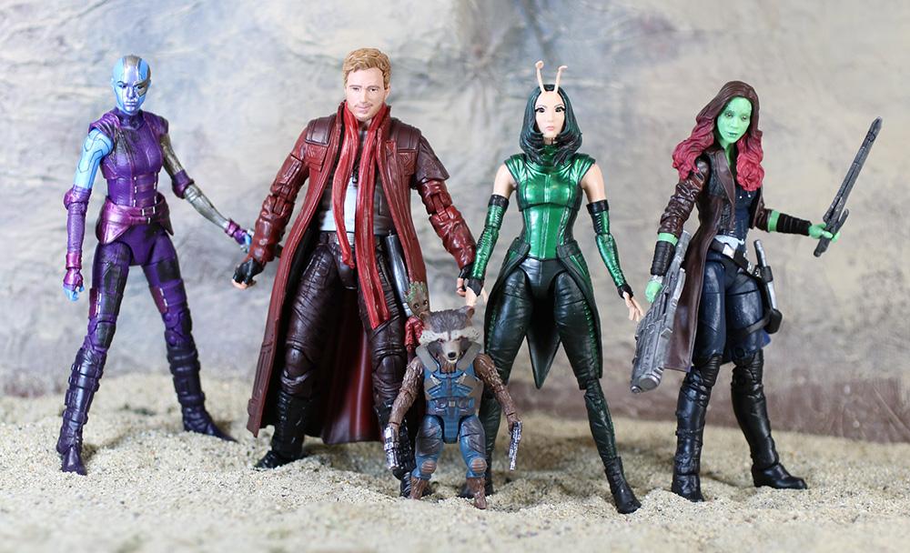 Muñecos Guardians of the Galaxy de Marvel Legends