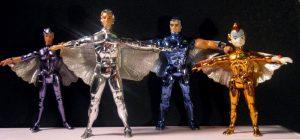 Muñecos de los Halcones Galácticos SilverHawks