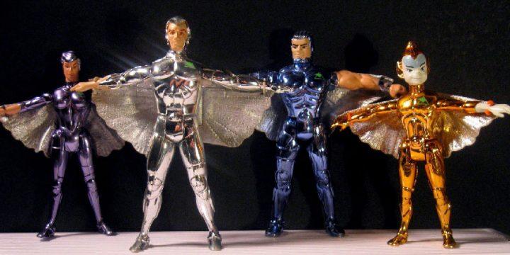 Muñecos de los Halcones Galácticos