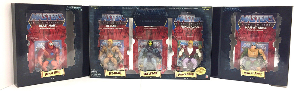 Muñecos de He-Man Commemorative Series