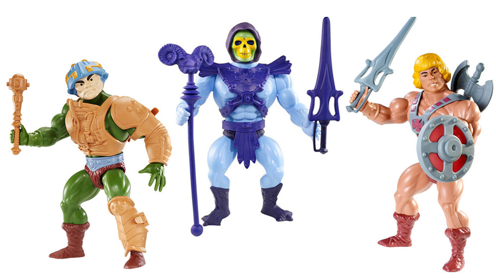 Muñecos de He-Man MOTU Giants
