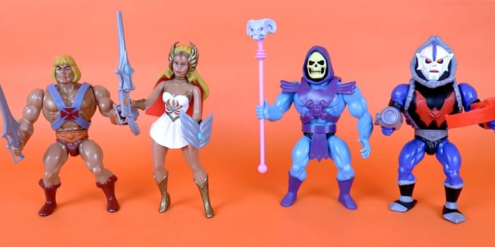 Muñecos de He-Man Super7 The Vintage Collection