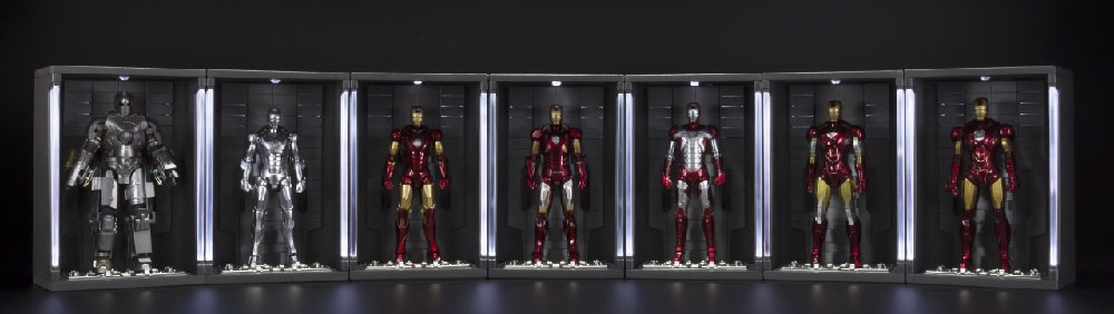 Iron Man Hall of Armor - S.H. Figuarts Tamashii Nations Bandai