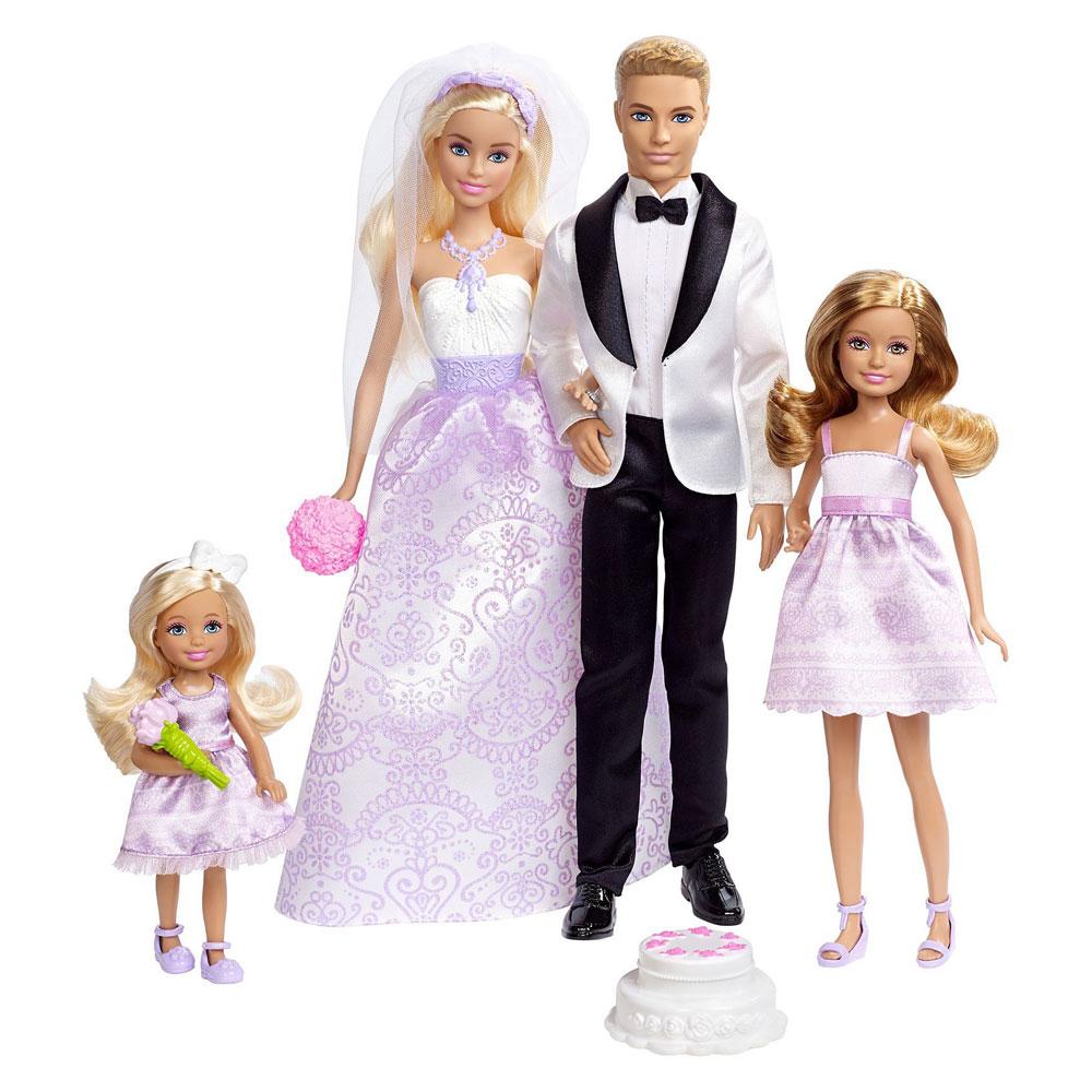 Muñecos de Barbie y Ken boda