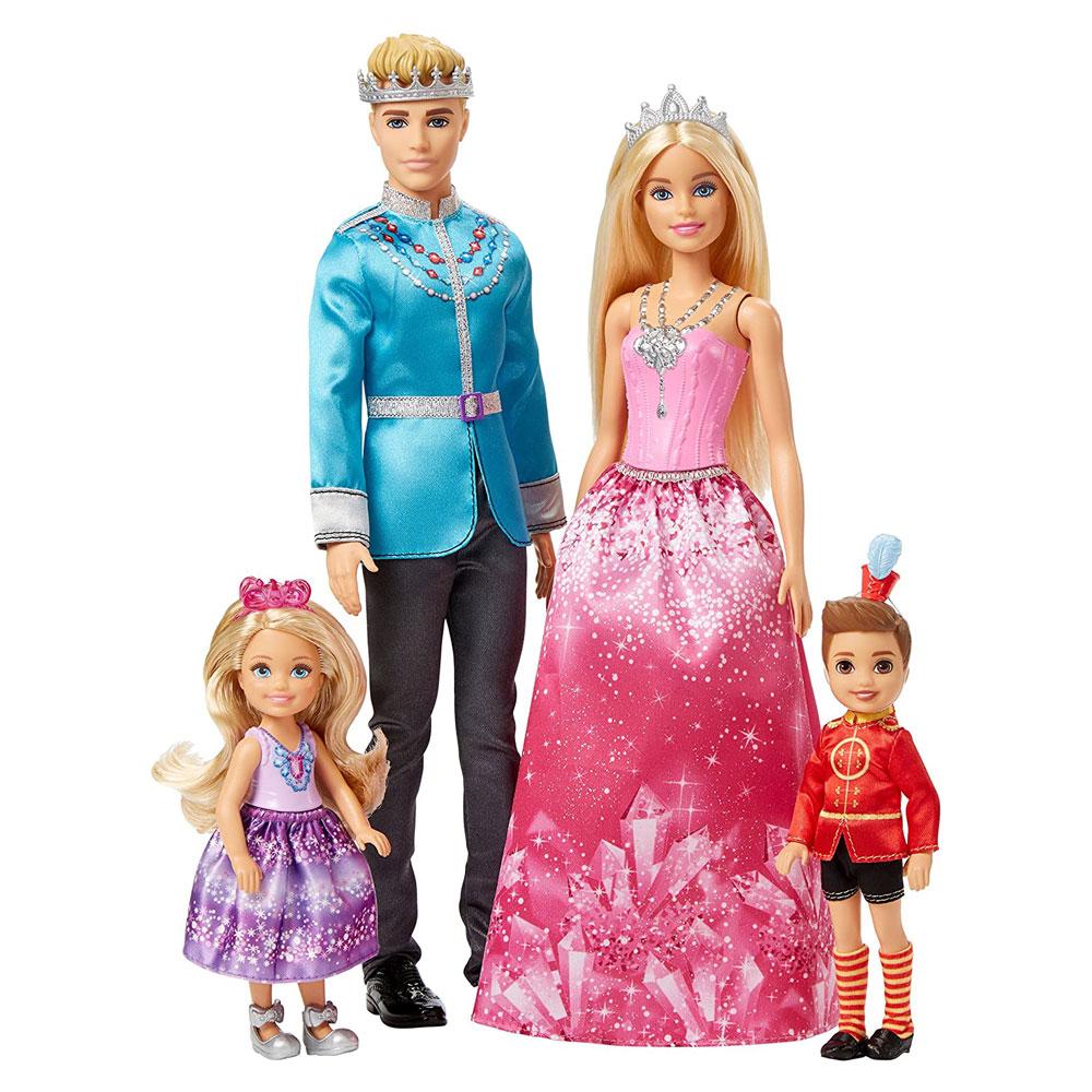 Muñecos de Barbie y Ken Dreamtopia
