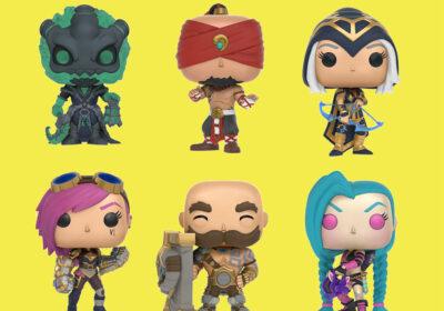 Figuras League of Legends Funko Pop