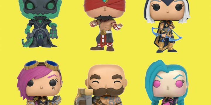 Figuras League of Legends Funko Pop