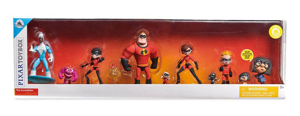 Set de muñecos de Los Increíbles Disney Toybox