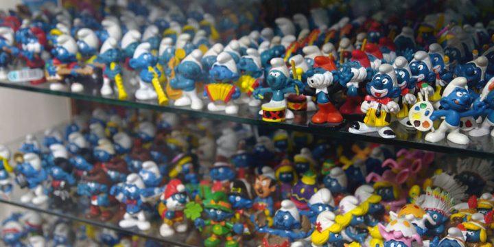 Muñecos de Los Pitufos
