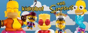 Muñecos Los Simpsons de Kidrobot