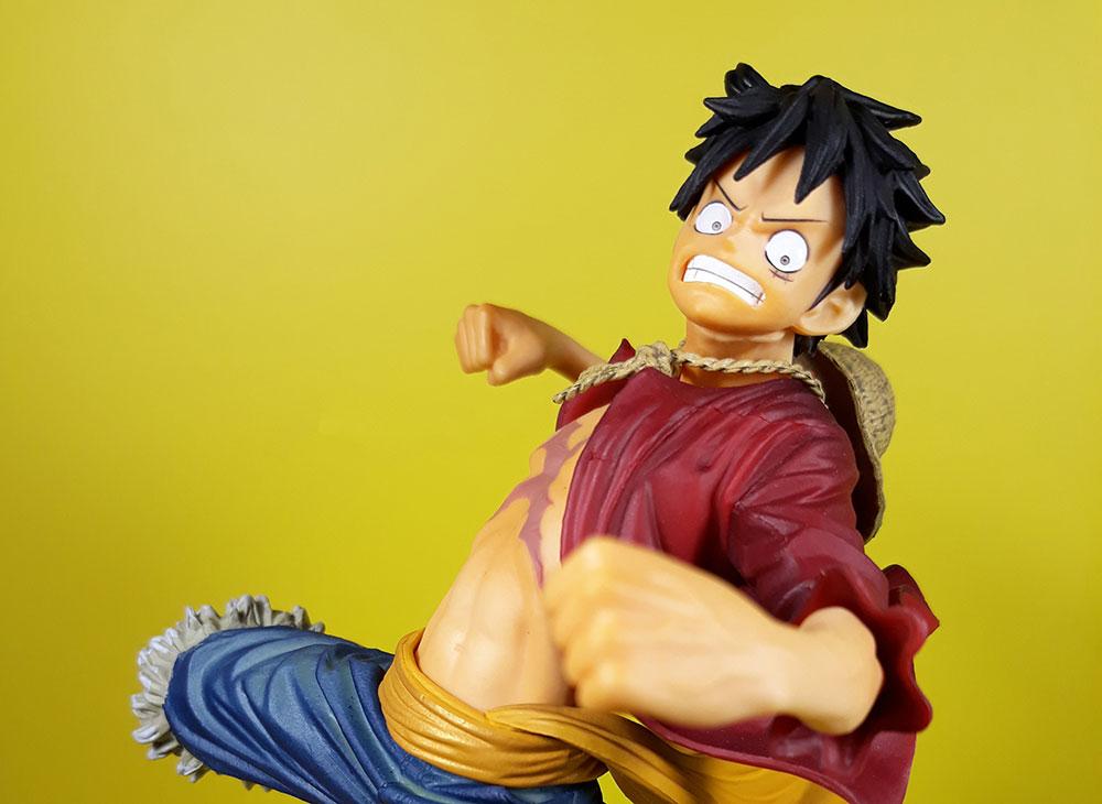 Muñecos de Luffy, de One Piece