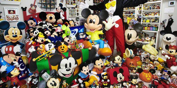 Muñecos de Mickey Mouse