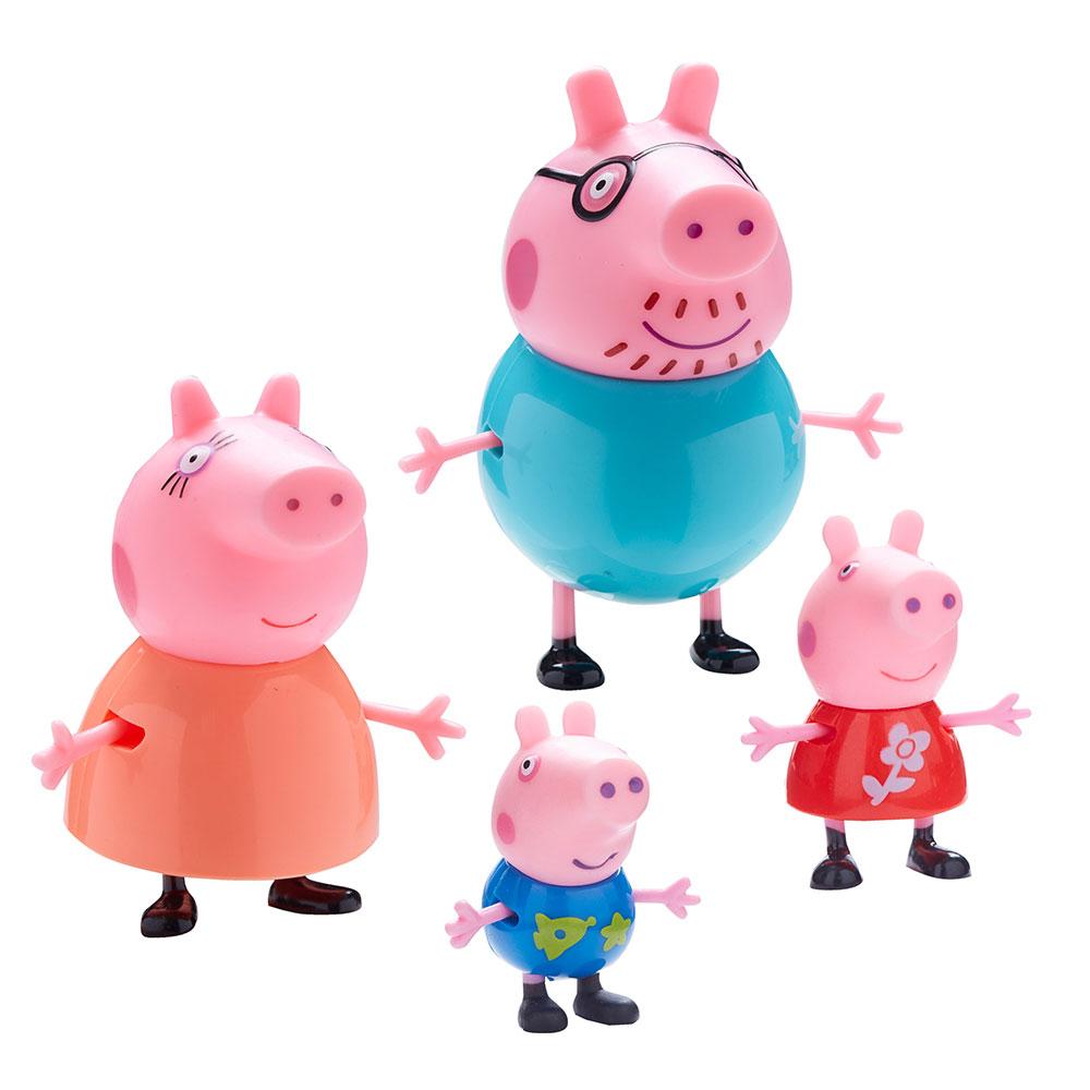 Muñecos de Peppa Pig familia