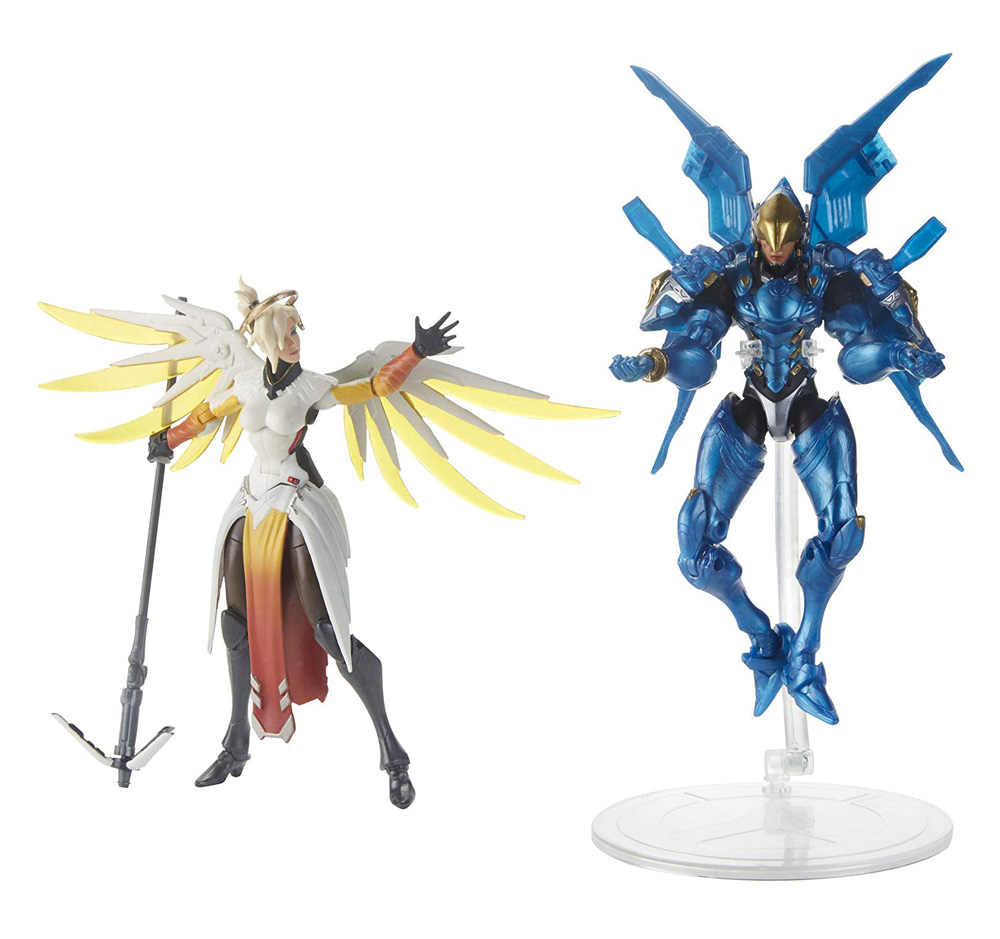 Muñecos de Pharah y Mercy Overwatch Ultimates