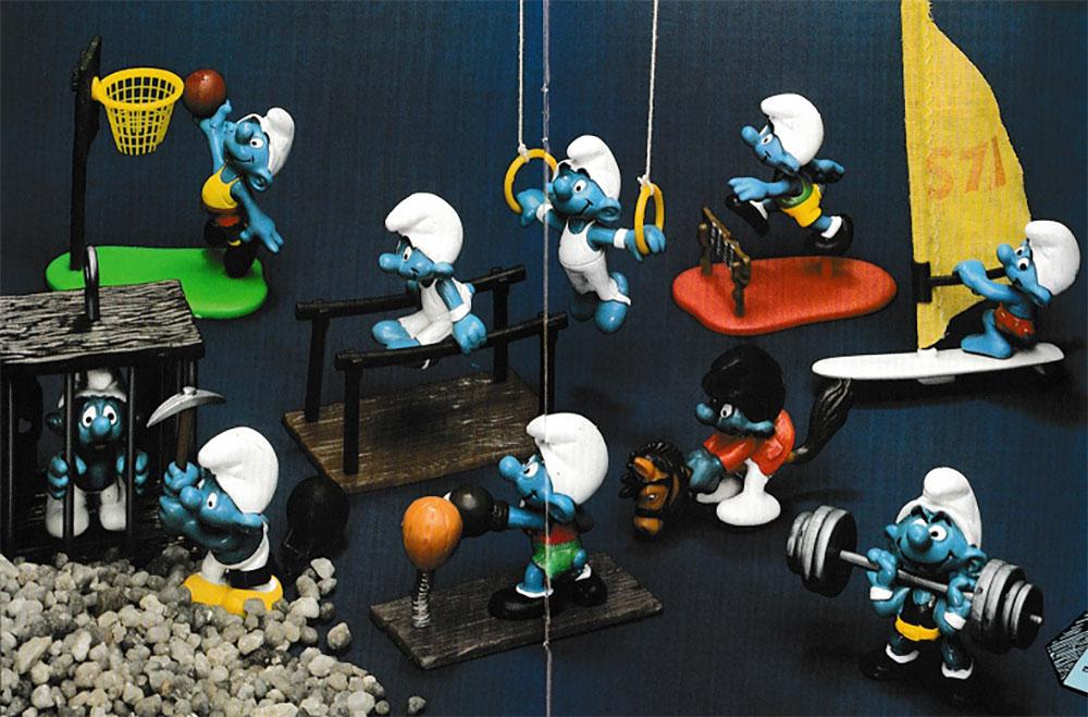 Figuras de Los Pitufos Schleich 1980