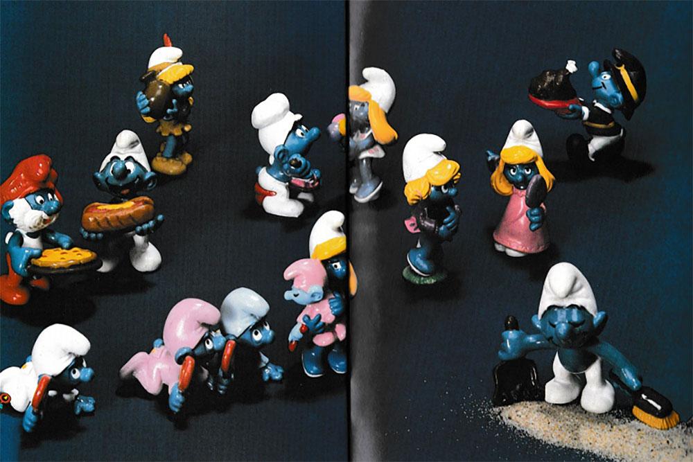 Muñecos de Los Pitufos Schleich 1984 2