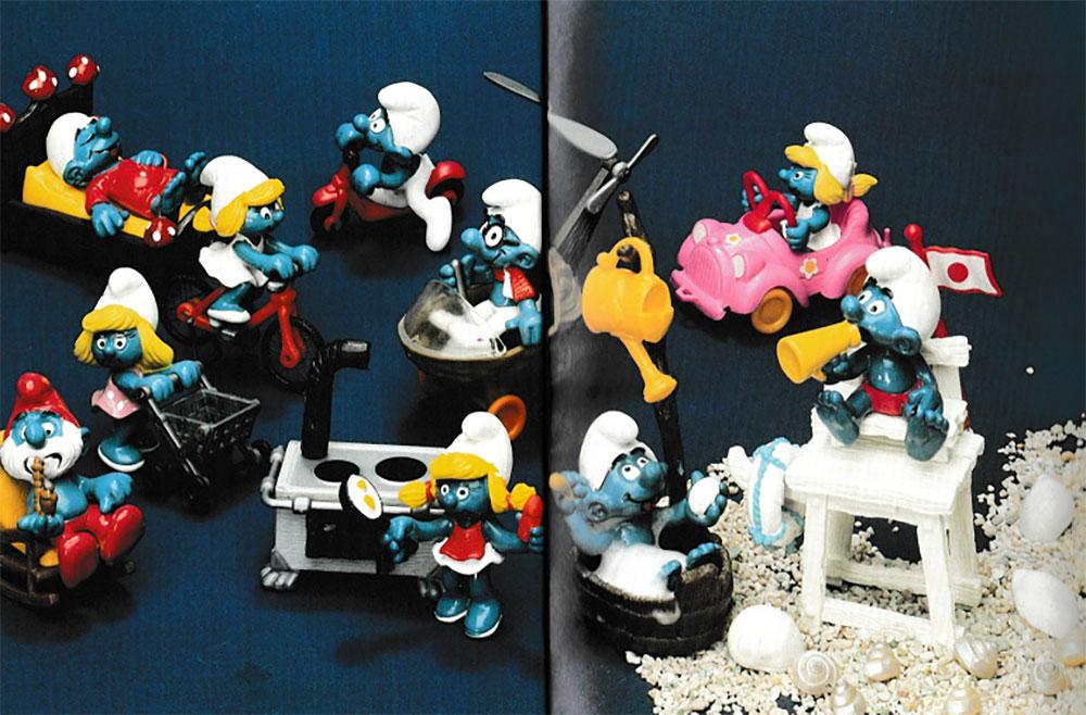 Muñecos de Los Pitufos Schleich 1984 3