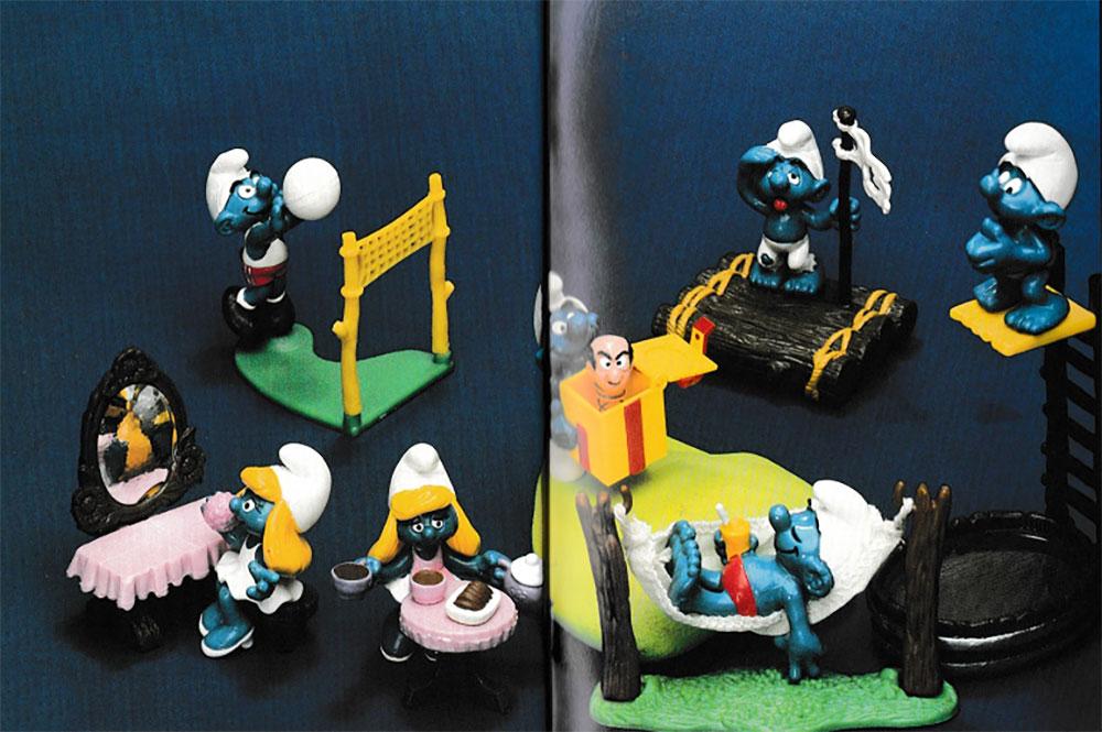 Muñecos de Los Pitufos Schleich 1985 3