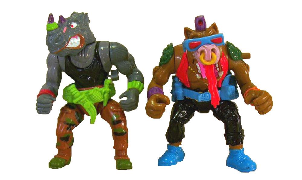 Muñecos de las Tortugas Ninja Wacky Action III TMNT