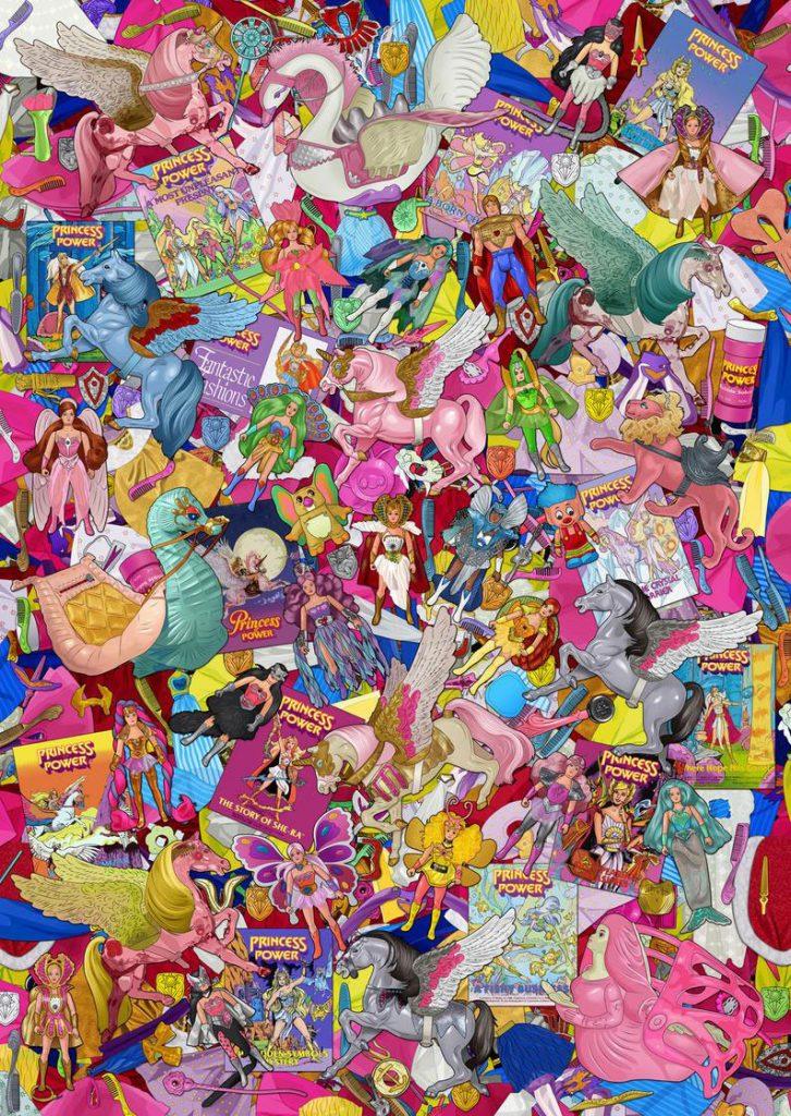 Muñecos de She-Ra póster
