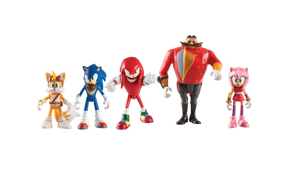 Set de muñecos de Sonic
