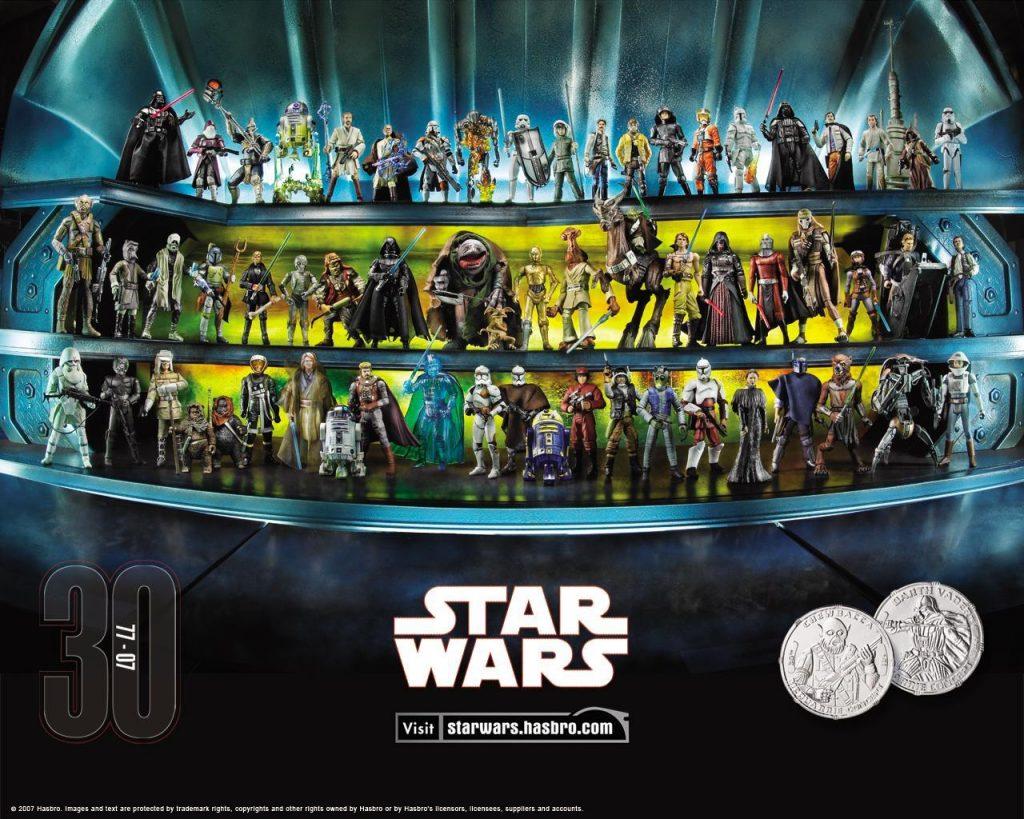 Muñecos de Star Wars 30 Anniversary