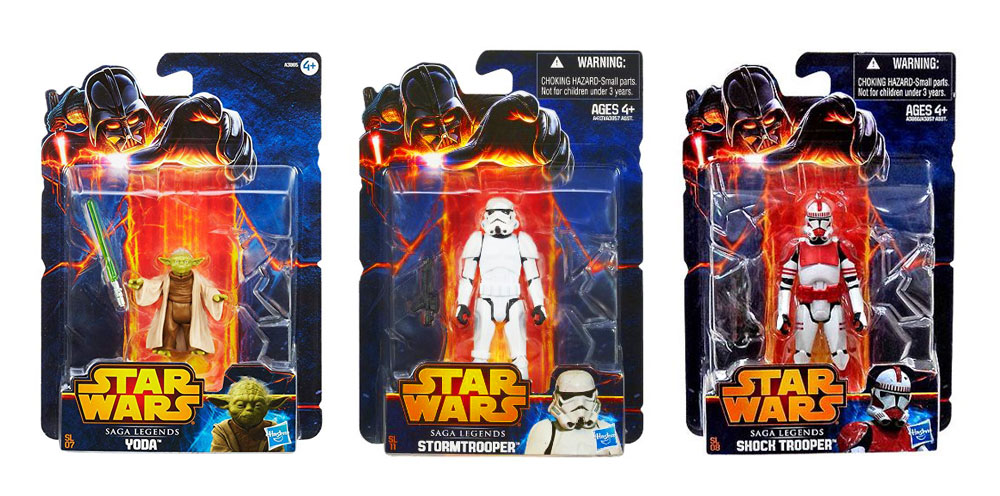 Muñecos de Star Wars Saga Legends