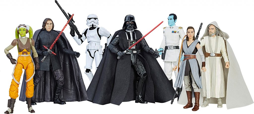 Muñecos de Star Wars The Black Series 6 pulgadas