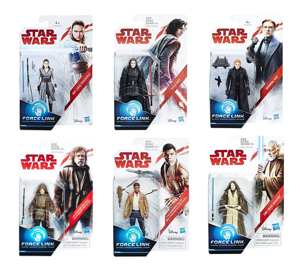 Muñecos de Star Wars The Last Jedi