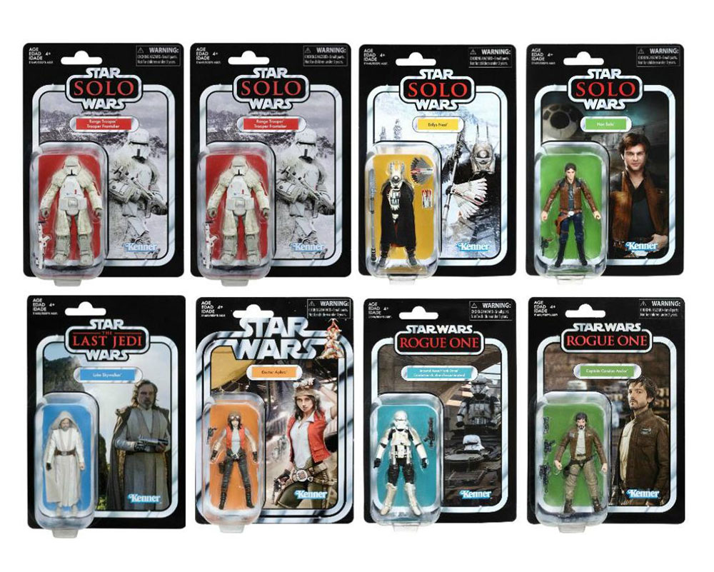 Muñecos de Star Wars: The Vintage Collection