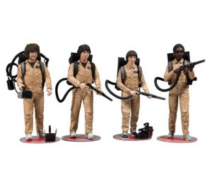 Muñecos de Stranger Things Ghostbusters Pack