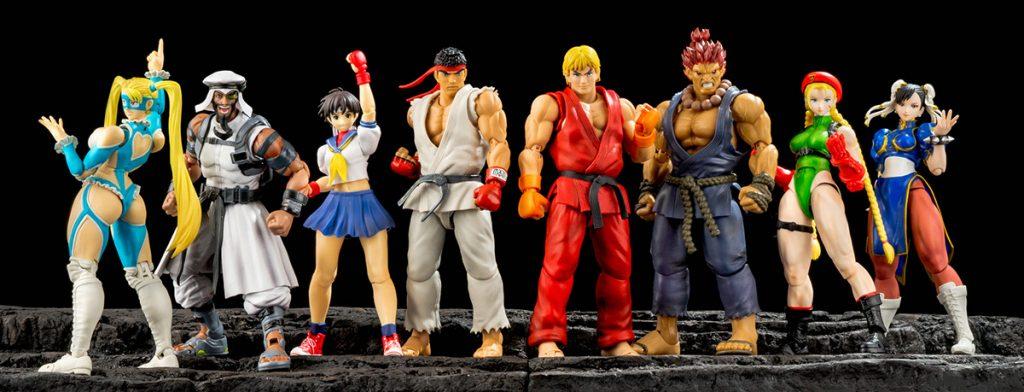 Muñecos de Street Fighter V