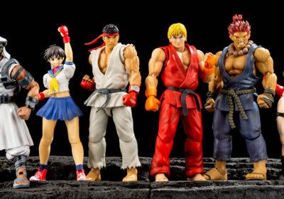 Muñecos Street Fighter V de S.H. Figuarts