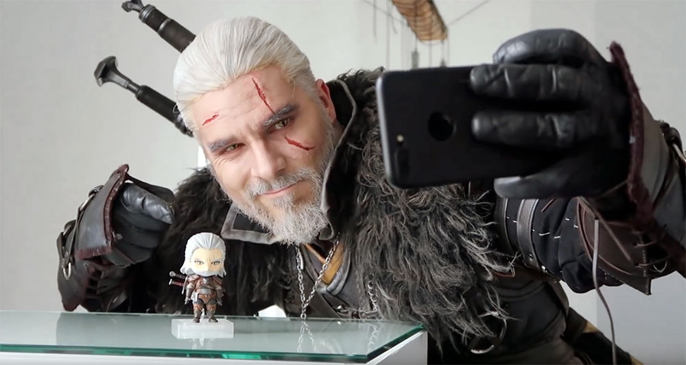 Muñecos The Witcher