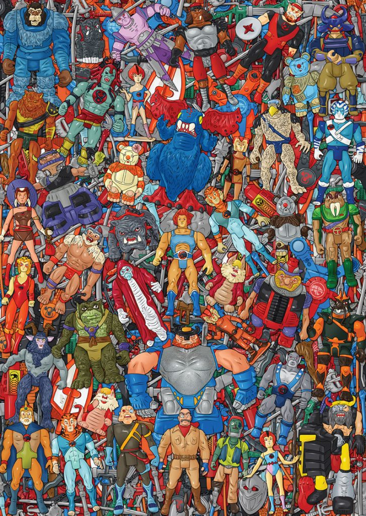 Muñecos de Thundercats póster