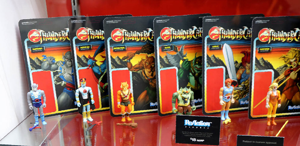 Muñecos Thundercats de Super7 ReAction