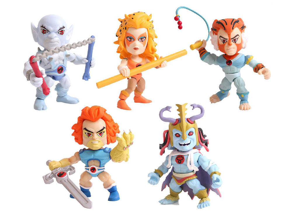 Muñecos de Thundercats de The Loyal Subjects