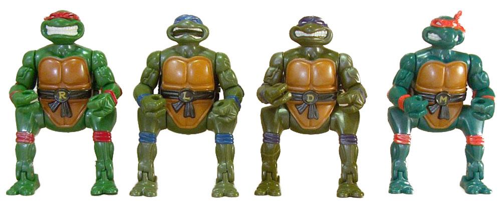 Muñecos de las Tortugas Ninja Kowabunga Crackin' Turtle Egg TMNT
