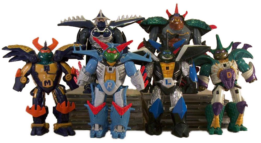 Muñecos de las Tortugas Ninja Cyber Samurai TMNT