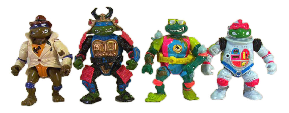 Muñecos de las Tortugas Ninja Disguised Turtles TMNT