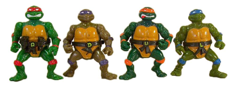 Muñecos de las Tortugas Ninja Headdroppin' Turtles TMNT